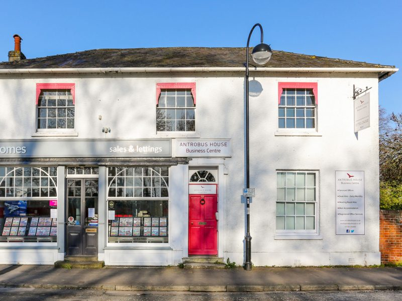 Antrobus House Grade II Listed Building in Central Petersfield